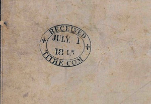 Newport_Tithe_Map stamp